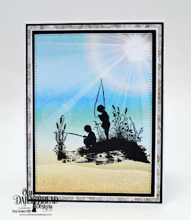 Our Daily Bread Designs Stamp Set: Brother in Christ, Custom Dies: Pierced Rectangles, Double Stitched Rectangles, Paper Collection: By the Shore