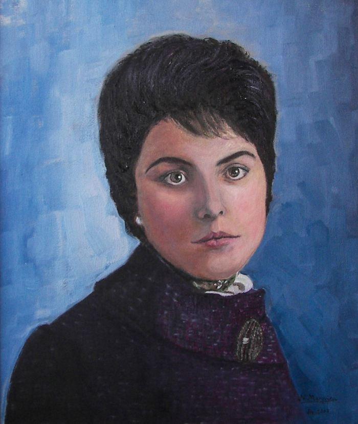 Астурийский художник. Nieves Marquina