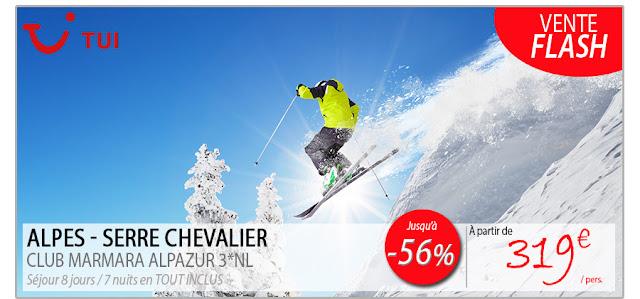 Alpes - Serre Chevalier au Club Marmara Alpazur 3* à 319 €