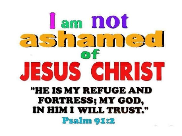 Jesus will not Ashame You