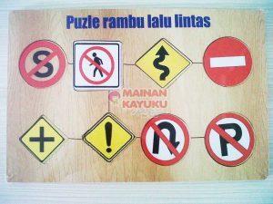 Puzzle Rambu Lalu Lintas