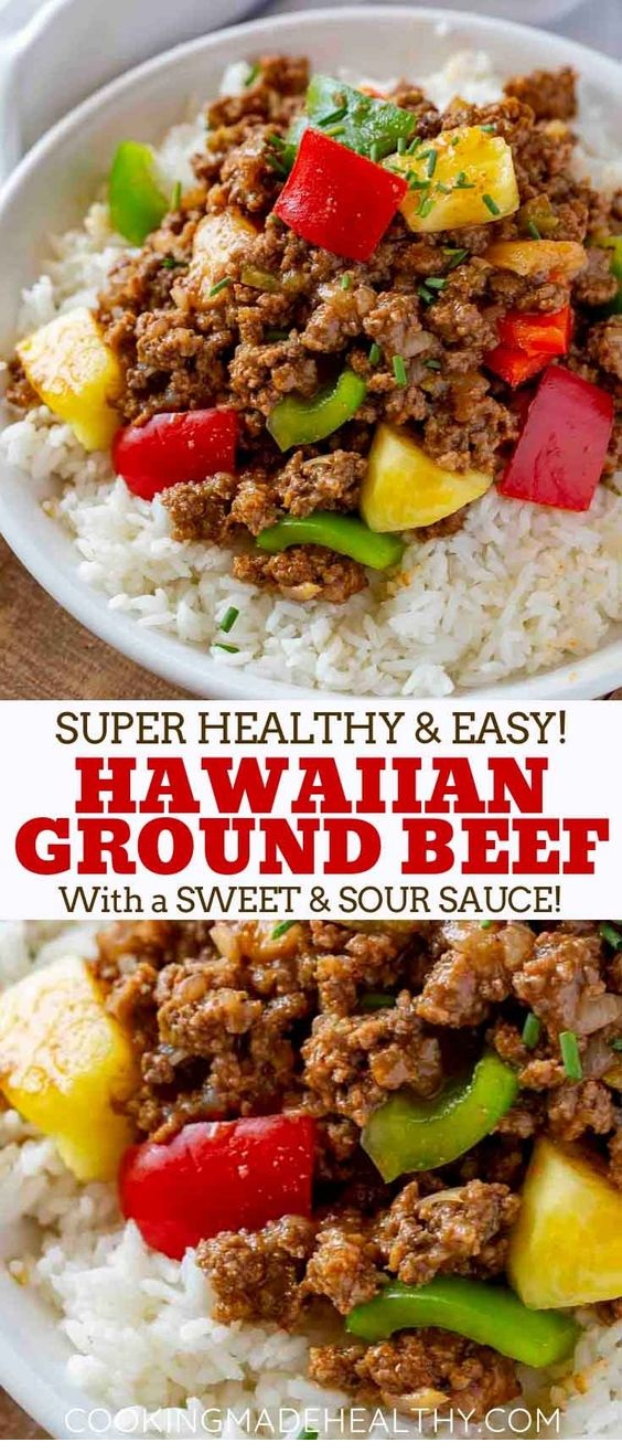 Ground Hawaiian Beef