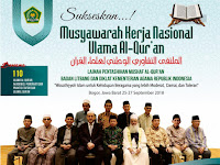 Mufassir Dunia Hadiri Mukernas Ulama Al-Qur'an Indonesia 2018