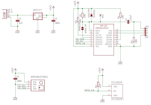 SensorNode circuit