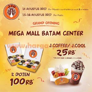 Promo JCO Terbaru Grand Opening JCO 2 Lusin Donut Hanya 100 Ribu 14 - 16 Agustus 2017