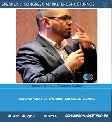 Ponentes del VIII Congreso de Marketeros Nocturnos en Murcia