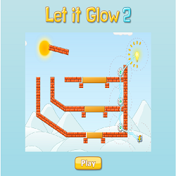Let It Glow 2 (Logical Thinking Physics Game)