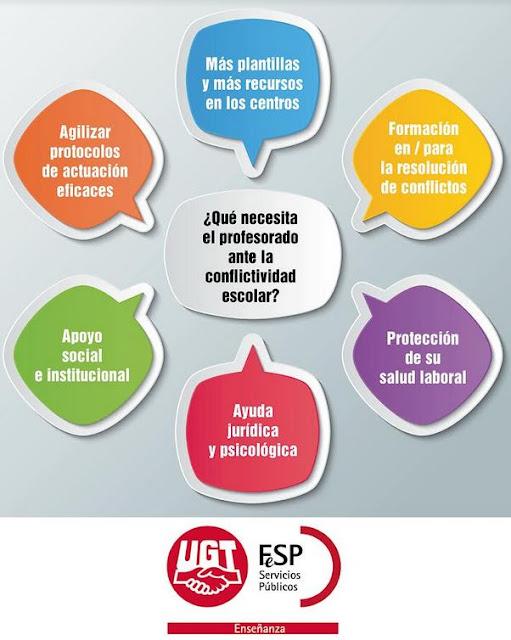 Día de la No Violencia y la Paz, Comunicado Enseánza UGT, Materiales Enseñanza UGT, Blog de Enseñanza UGT Ceuta, Enseñanza UGT Ceuta