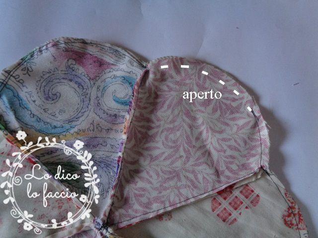 cucire petali