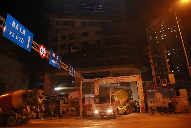 Công trường thi công dự án FLC Star Tower Hà Đông