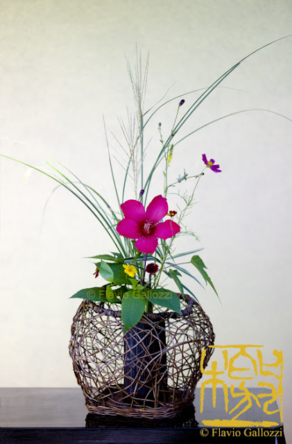 ikebana is a tradition...
