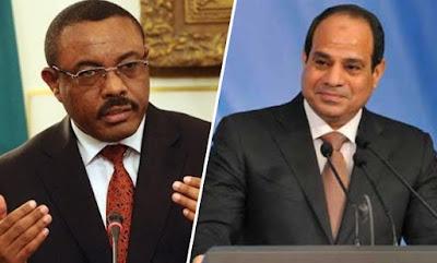 السيسى ورئيس وزراء إثيوبيا