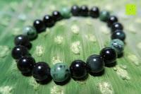 Erfahrungsbericht: AmorWing 10mm Obsidian und Ruby Zoisit Gebetsarmband vom Einfachen Stil für Damen/Herren