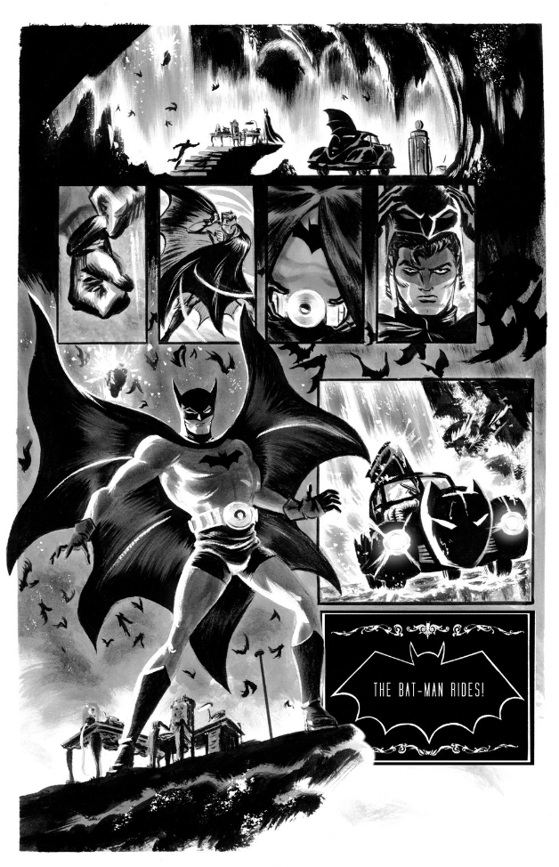 Silent Knight, Unholy Knight -- Batman: Black & White