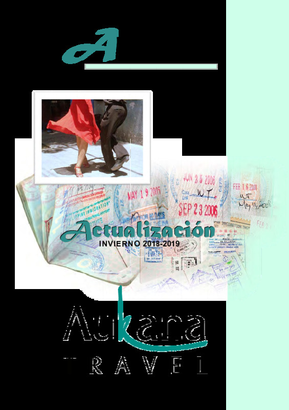 Catálogo Aukana Circuitos Argentina Invierno 2018-23