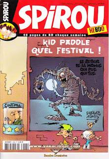 Spirou Hebdo, Kid Paddle quel festival !, numéro 3628, année 2007