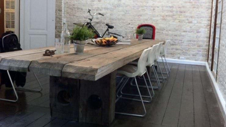 La guarida de bam ideas mesas de madera - Table bois design contemporain ...