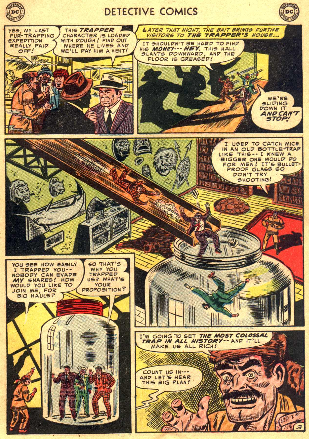Read online Detective Comics (1937) comic -  Issue #206 - 3