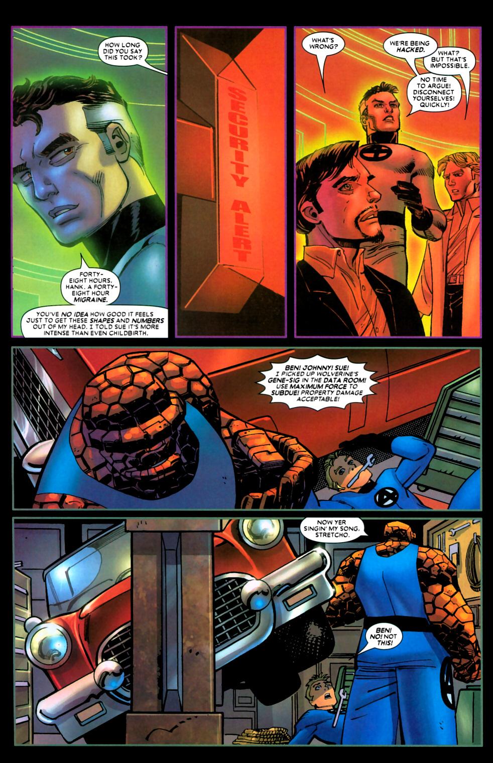 Read online Wolverine (2003) comic -  Issue #22 - 9