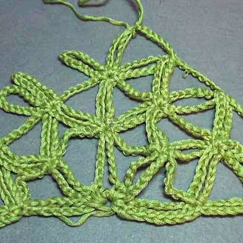Tutorial Punto Crochet Flor-Cadenas