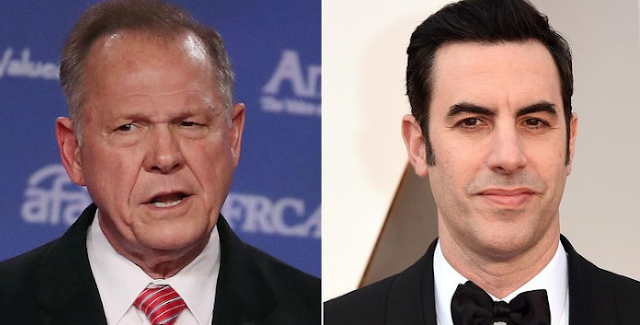 Roy Moore Is Suing Sacha Baron Cohen for $95 Million After Judge's Appearance on Who Is America?