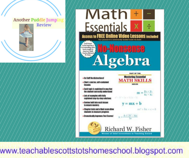 Review, #hsreviews #NoNonsenseAlgebra #Algebra #MathEssentials, No Nonsense Algebra, Algebra, Homeschool Math, Math Essentials