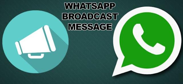 Cara Broadcast Pesan di WhatsApp