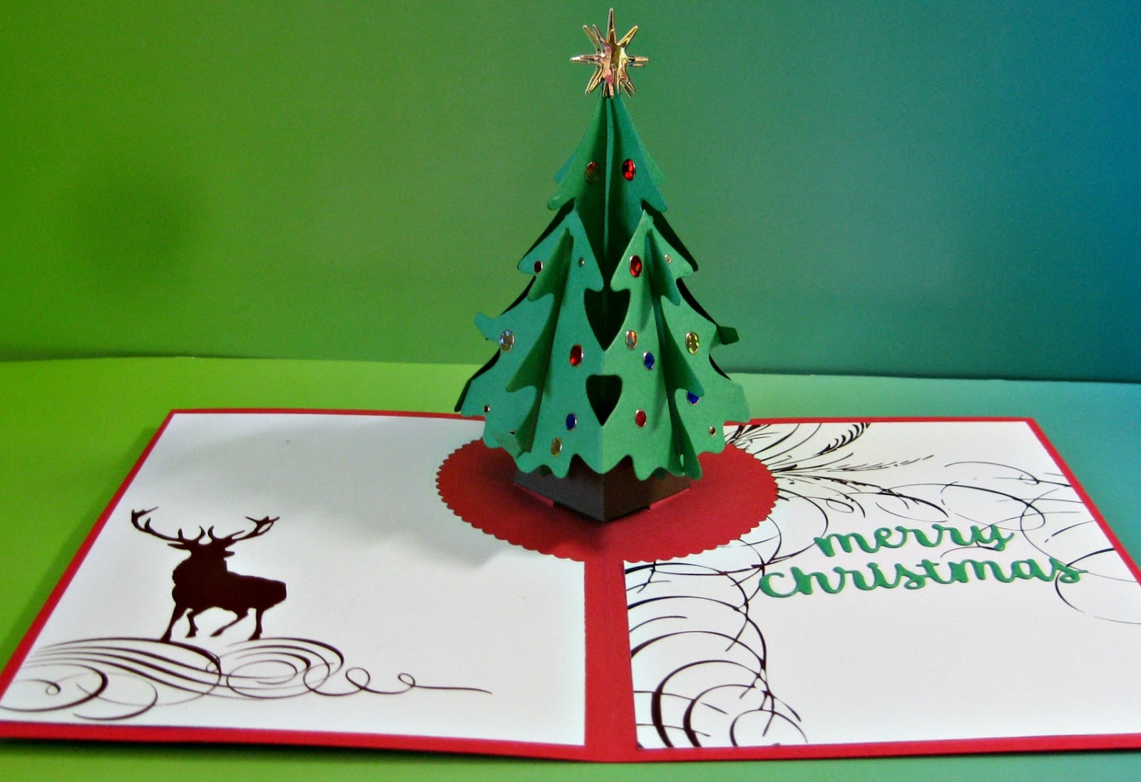 Karen's Kreative Kards: Another Pop Up Christmas Card With