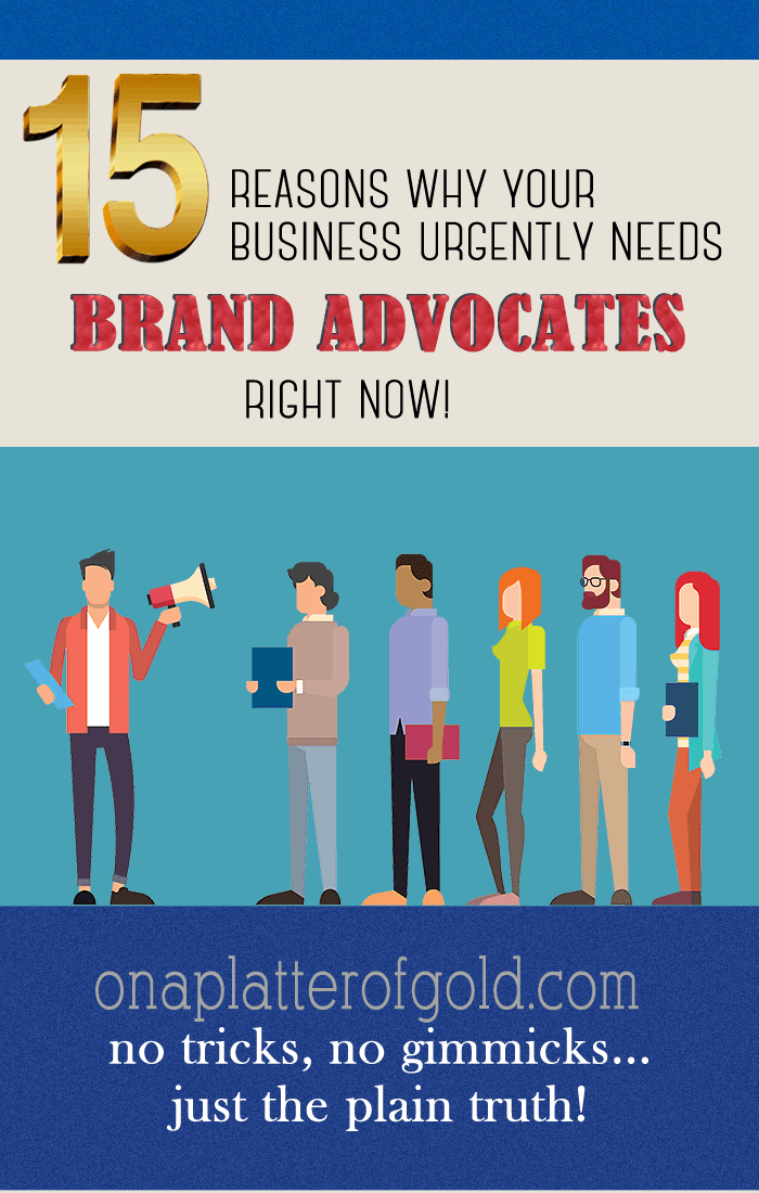 This infographic highlights some key points about brand advocacy, and how businesses can gain from it