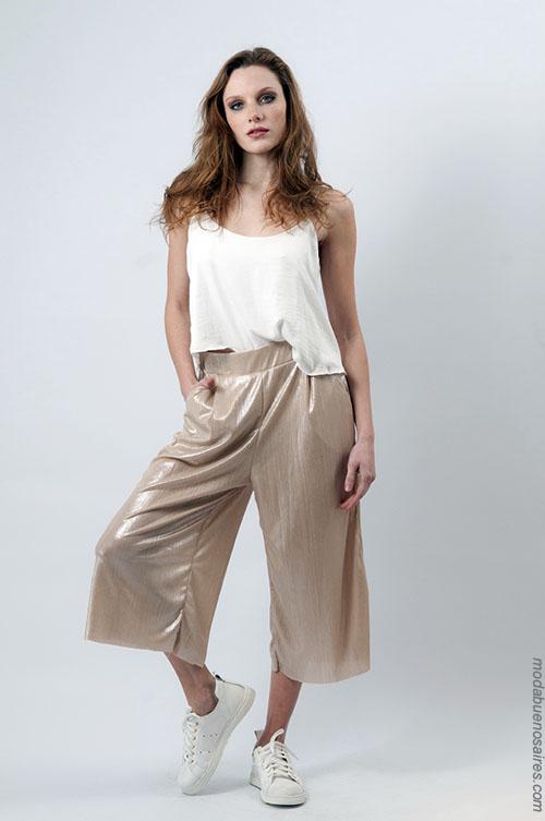 Pantalones palazzos moda verano 2018 ropa de mujer 2018.