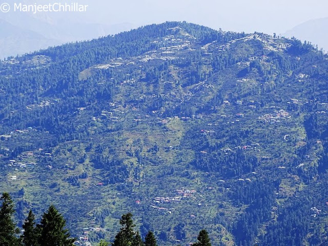 View Of Kotgarh, Himachal Pradesh