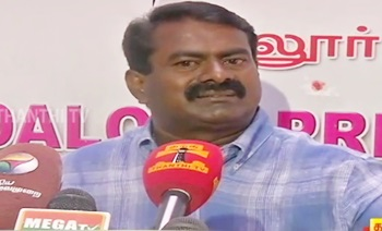 NTK Chief Seeman on Political Parties' Election Promises | Press Meet – Thanthi Tv