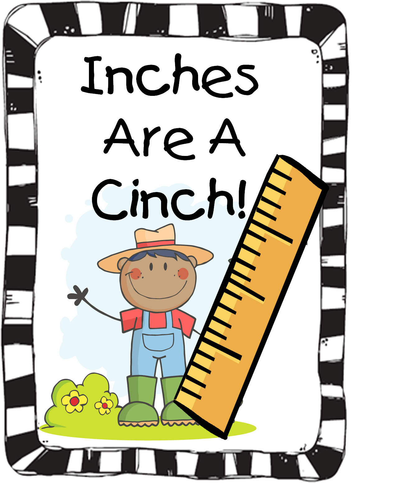 First Grade Wow Inches Are A Cinch