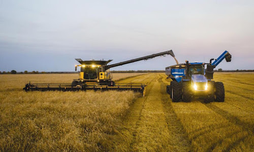 New Holland CR 1090 - Maior colheitadeira do mundo