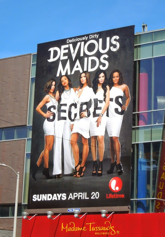 Devious Maids season 2 Secrets billboard