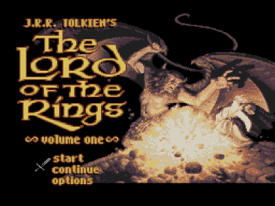 J.R.R. Tolkien's The Lord of The Rings Volume 1 - Título RPG