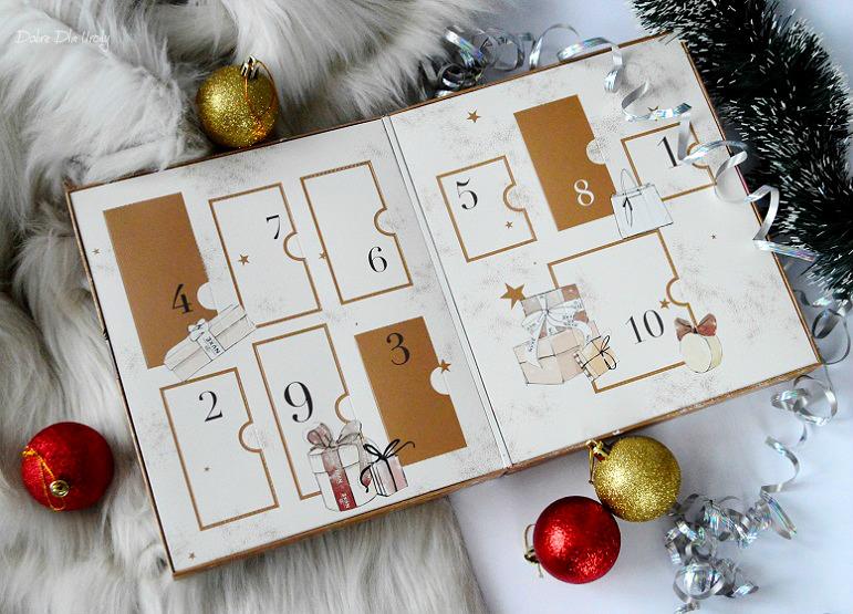 NUXE Beauty Treasures kalendarz adwentowy z 10- cioma skarbami piękna