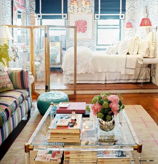 The Peak of Très Chic: NYC Studio Apartment Living