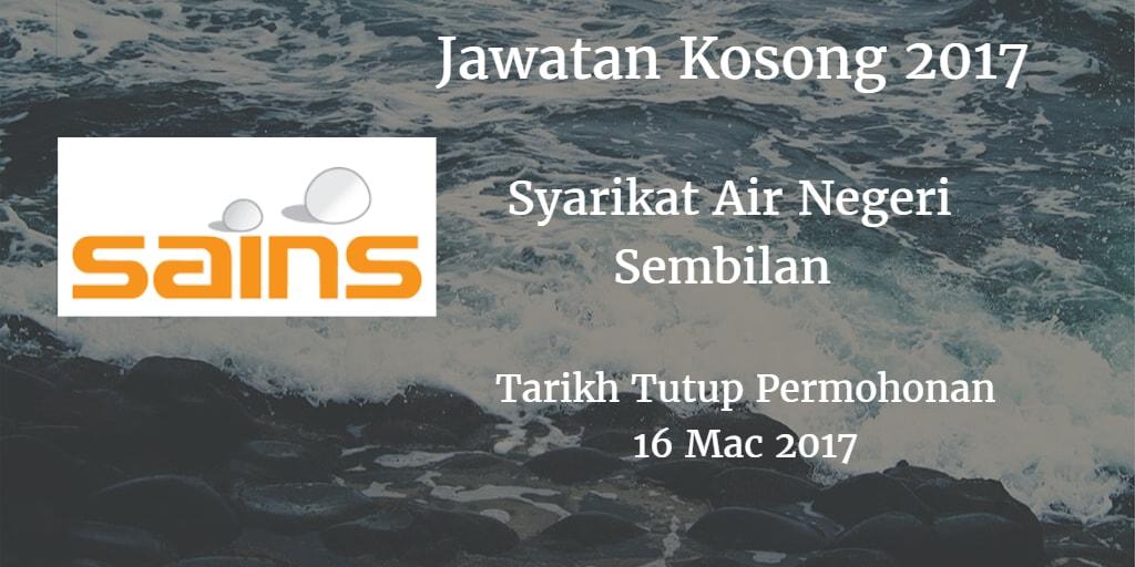 Jawatan Kosong SAINS 16 Mac 2017