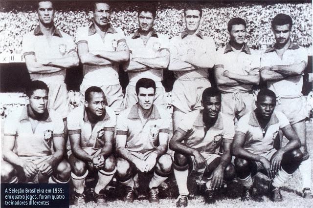 Formación de Brasil ante Chile, Copa O'Higgins 1955, 18 de septiembre
