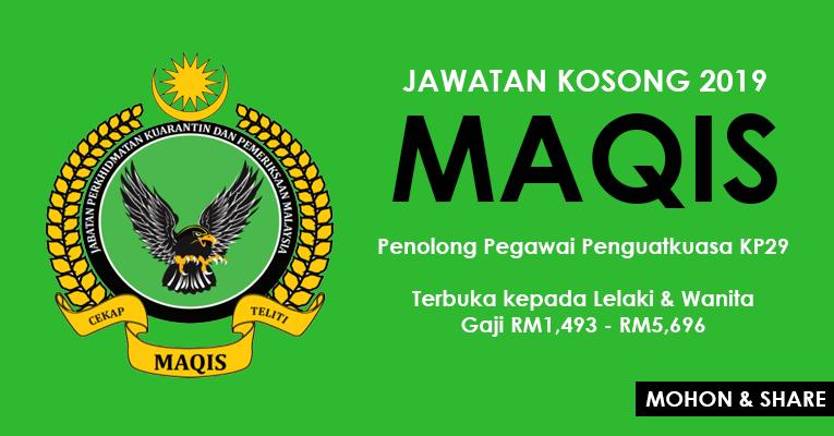 Jabatan Perkhidmatan Kuarantin & Pemeriksaan Malaysia