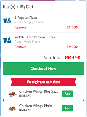 Domino's Coupon Code Malaysia Free Pizza