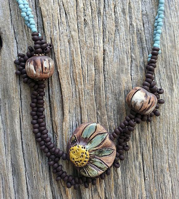 MaryHardingJewelry Bead Blog: New Stoneware beads
