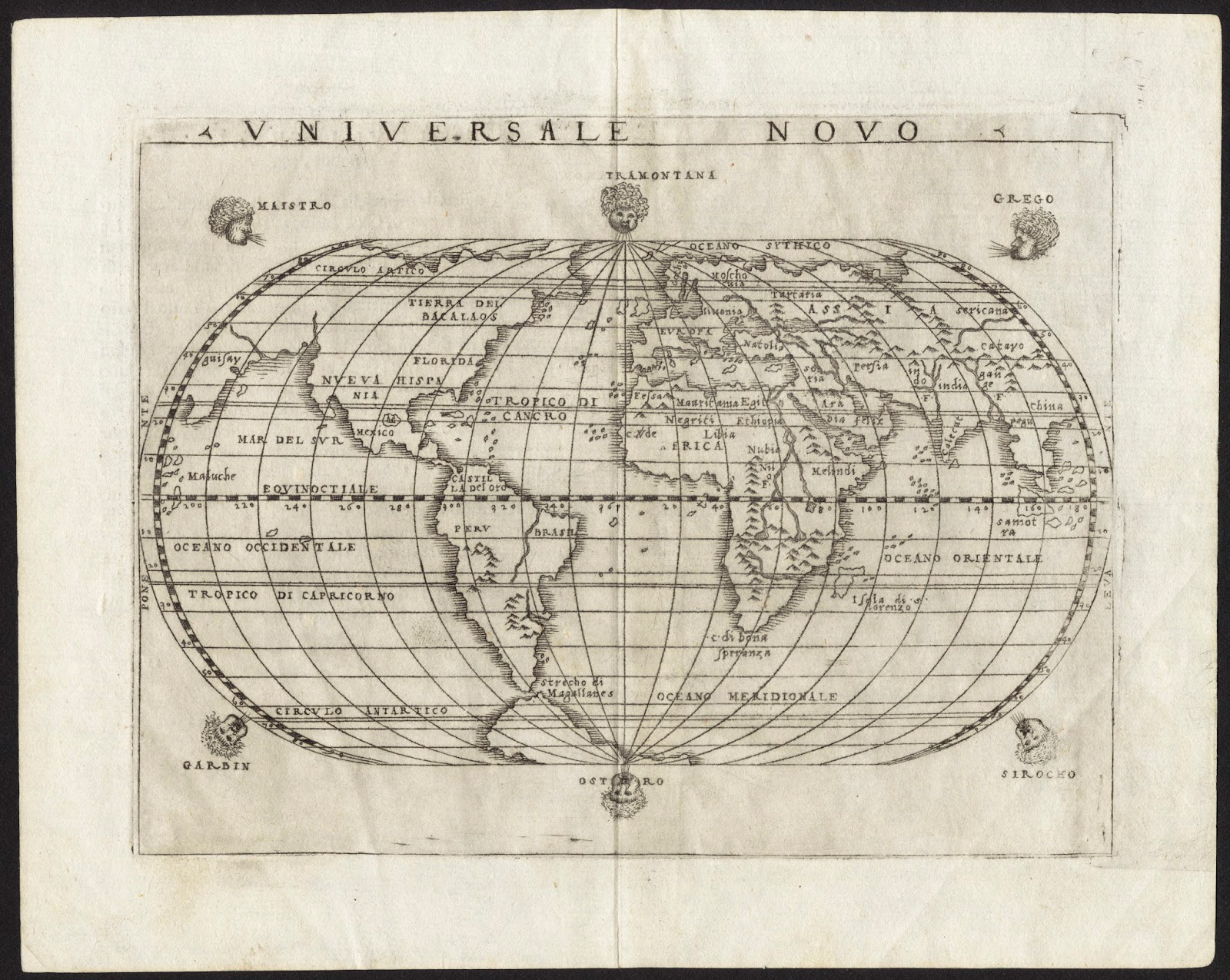 Birkhall\'s Miscellany: EARTH HOAX; What Did The Old Maps Depict?