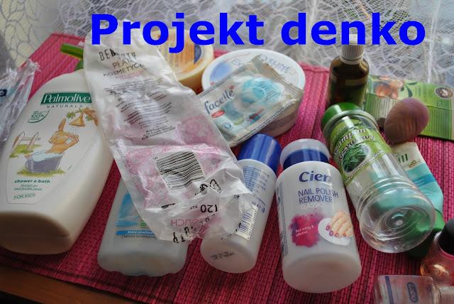 projekt denko, pustaki, zużycia kosmetyków, opinie
