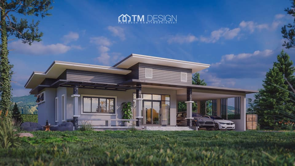 Are you looking for a small but modern home plan that is not only budget-friendly to build but has that design that will stand out or can be considered as classy and timeless? If the answer is yes, then you will be happy with this compilation of five small but modern houses you will love to have these present days!  Aside from the beautiful and modern design of its exterior. The floor plans are stunning and perfect for every small family! Many homeowners are downsizing their living lately due to the increasing cost of material and labor cost, as well as the maintenance of big houses. So if you want to have a small house but still want to enjoy the modern-touch, here are five that will inspire you to work hard to have one!