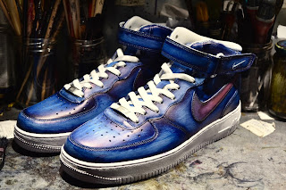 Nike AirForce1 patiné by © Paulus Bolten