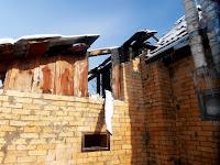 (ФОТО)Пожар в переулке Пролетарском города Сухой Лог