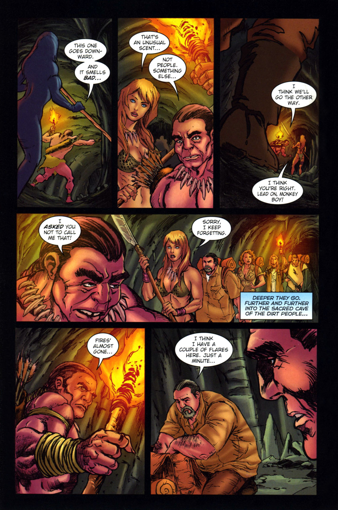 Read online Jungle Girl comic -  Issue #4 - 17