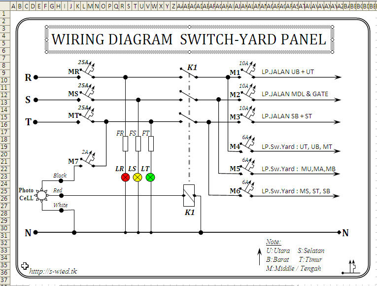 DIAGRAM] Contoh Wiring Diagram Panel Listrik FULL Version HD ... on